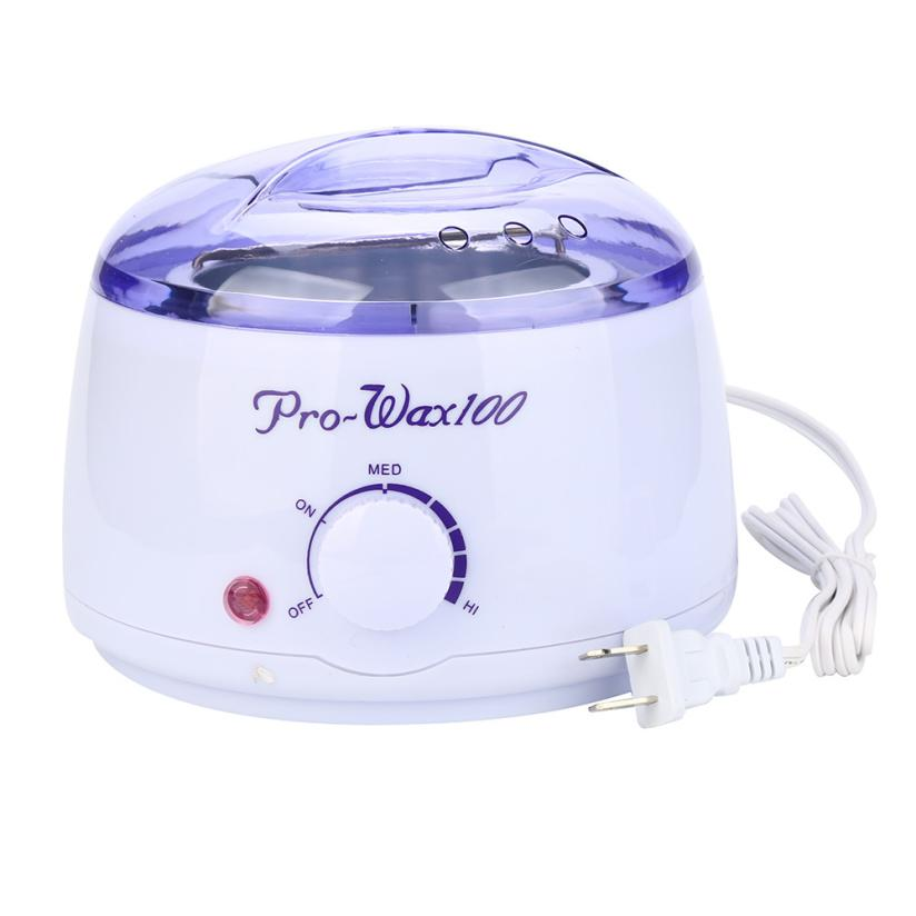 Top selling   Hair Removal Hot Paraffin Wax Warmer Heater Pot Machine Depilatory Hard Wax Bean Set  17a29