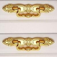64mm Modern Fashion Gold Shaky Drop Rings Furniture Pulls 2 5 Golden Drawer Cabinet Dresser Cupboard
