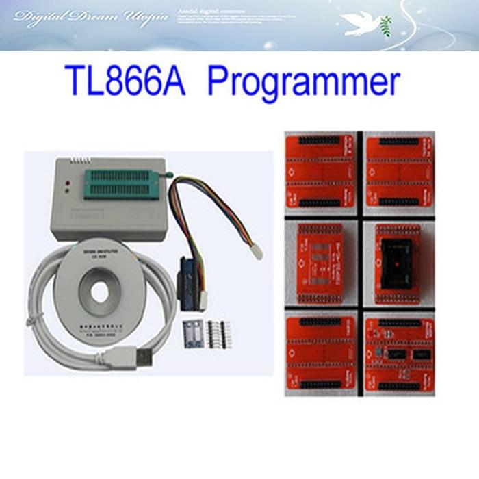 hot! high speed MiniPro TL866A HighSpeed USB MCU eeprom programmer with ICSP interface and adapters TSOP48/TSOP40/TSOP32 socket jhw2013 usb 2 0 12mbps high speed programmer white green