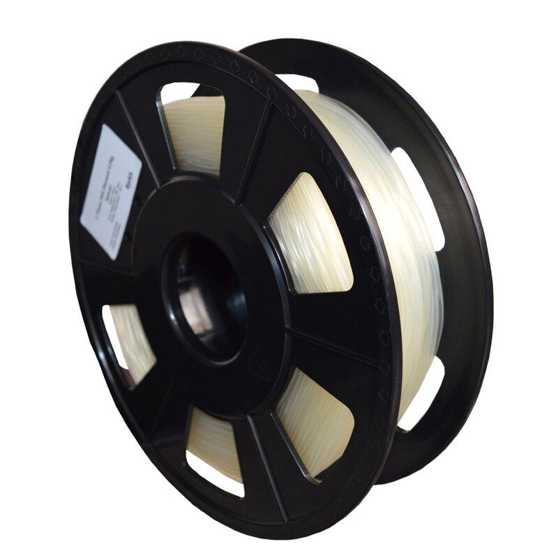 Prix pour PVA 3D imprimante filament PVA soluble dans l'eau filament 1.75mm/3.00mm filament pour 3d imprimante en plastique 500g/rouleau