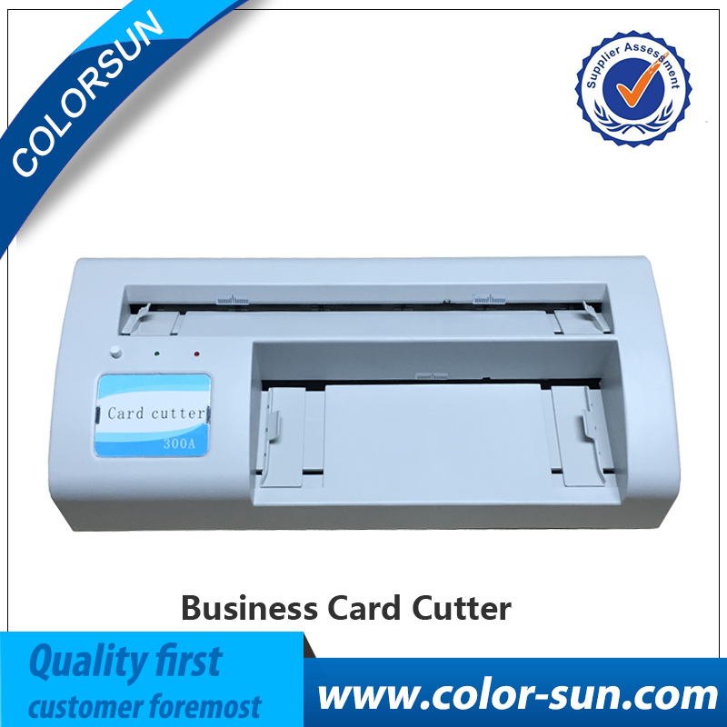 HIgh quality 220V Automatic Name Card Slitter Name Card Cutter A4 ...
