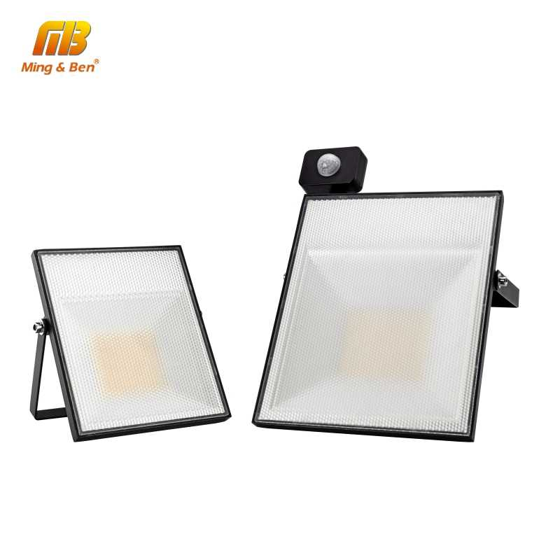 LED PIR Motion Sensor Adjustable Floodlight 15W 30W 45W 60W 220V SMD2835 For Outdoor Wall Lighting IP65 Garden Garage Lamp