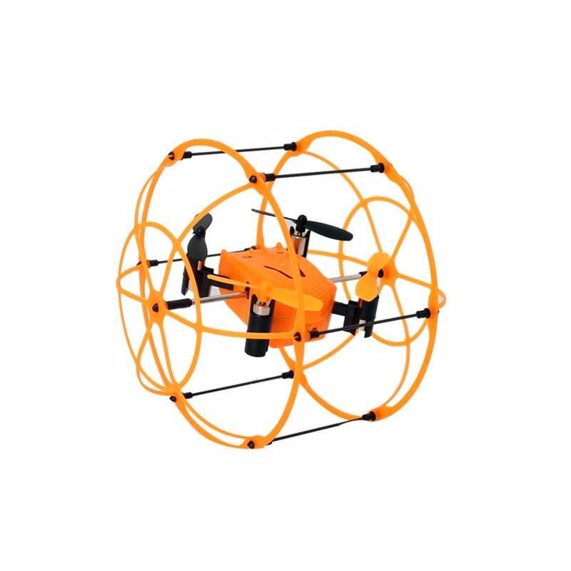 MINI SKY WALKER 1336 4CH 360 Flips 2.4GHz Climb RC Quadcopter Drone w 6-Axis Gyro with Protective Cover RTF