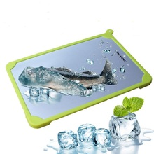 Fast Defrosting Meat Tray chopping board Rapid Safety Thawing For Frozen Food Kitchen knives and accessories 2018