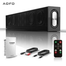 AOFO 2.1 Channel Home theater system Bluetooth Sound bar Speaker with Built-In Subwoofer for TV 40w online shopping active home theater speaker system on wall speaker