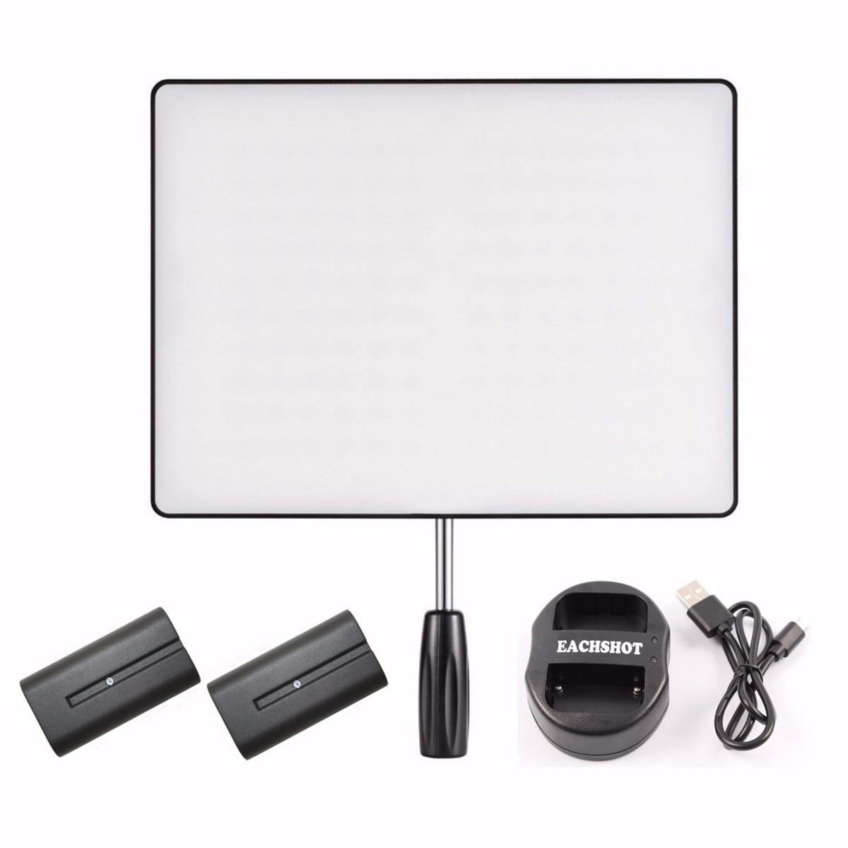 YONGNUO YN600 Воздуха Камеры LED Video Light Для DSLR + 2 * NP-F550 Аккумулятор + Двойной Зарядное Устройство