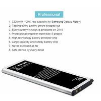 battery samsung galaxy PINZHENG EB-BN910BBE Battery For Samsung Galaxy Note 4 Battery N910F N910C N910U N910V N910T N910H N910A N910X N910P Batteries (3)