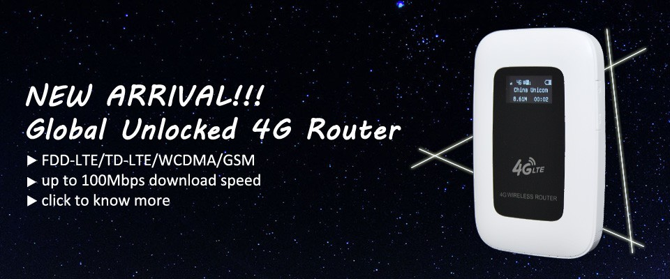 4G Router Banner