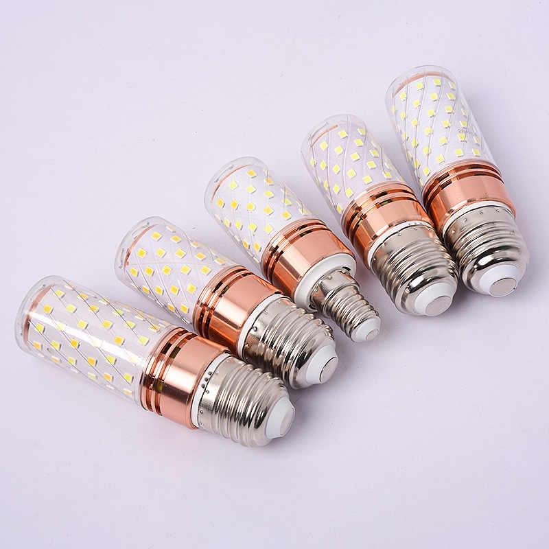 E27 LED Lamp E14 LED Bulb 220V 60LEDs 84LEDs Cold White / Warm White / Double White LED Corn Bulb Lamp Led Light Bulb