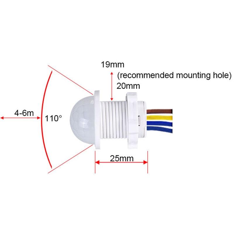אור חיישן תנועה 3