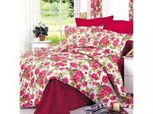 Комплект постельного белья полутораспальный СайлиД, красные цветы