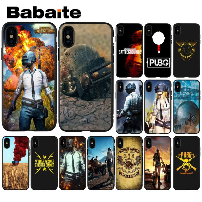Us 073 33 Offbabaite Playerunknowns Battlegrounds Pubg Drawing Phone Case Cover Shell For Iphone X Xs Max 6 6s 7 7plus 8 8plus 5 5s Xr In