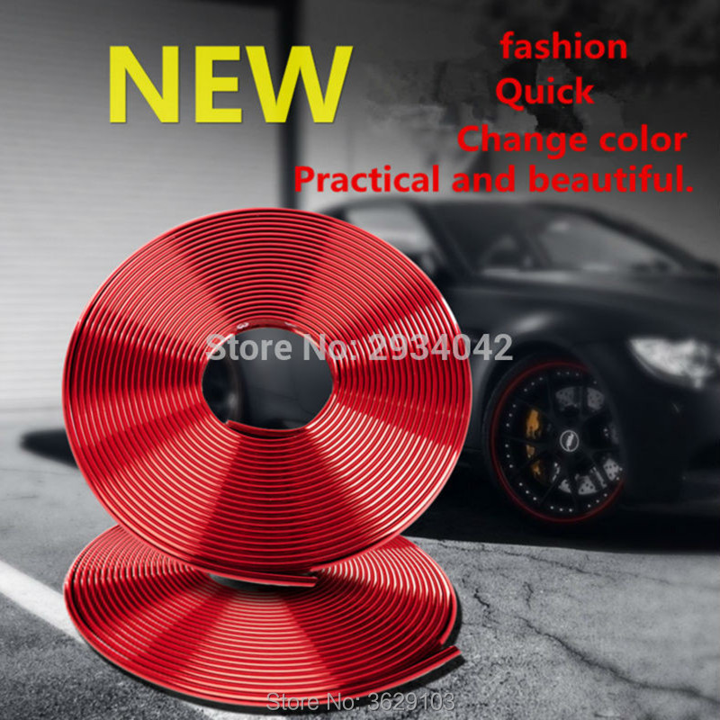 8m car-styling upgrade plating contour decorative adhesive paste for Porsche cayenne macan 911 panamera 997 996 918 955