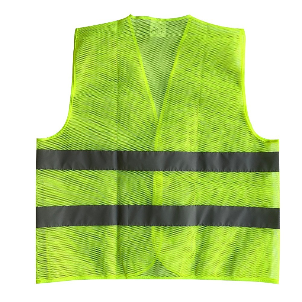 Summer Mesh fabric breathable Reflective Vest For Car Clothes Provides High Mesh fabric Visibility Day Night For Safety vest safety reflective vest highlight reflector stripe for day night working