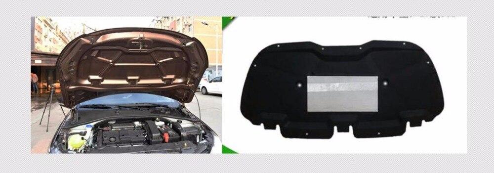 Sound Deadening Insulation Mat Automotive Deadener Wall Soundproofing Foam Panels Sound insulation For Peugeot 301 2017