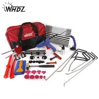 WHDZ PDR Kit Tools Car Dent Repair Tool Dent Puller Hot Melt Glue Gun Pulling Bridge Rubber Hammer Paintless Dent Removal