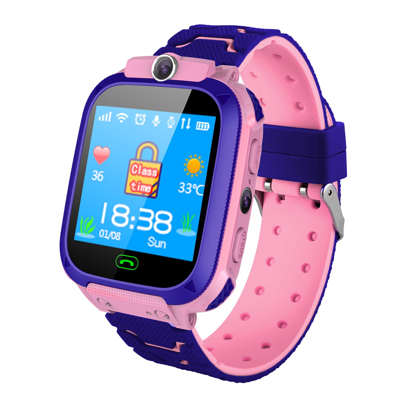 New childrens watch multi-function phone positioning photo flashlight clock hot girl wristwatch security one button for helpNew childrens watch multi-function phone positioning photo flashlight clock hot girl wristwatch security one button for help