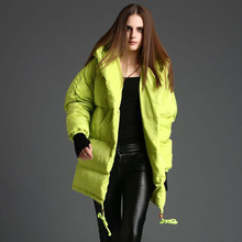 Top White Duck Down Winter Jacket Women Nice New High Quality Women's Winter Jacket Thick Winter Coat Women Hood Parka AW1185