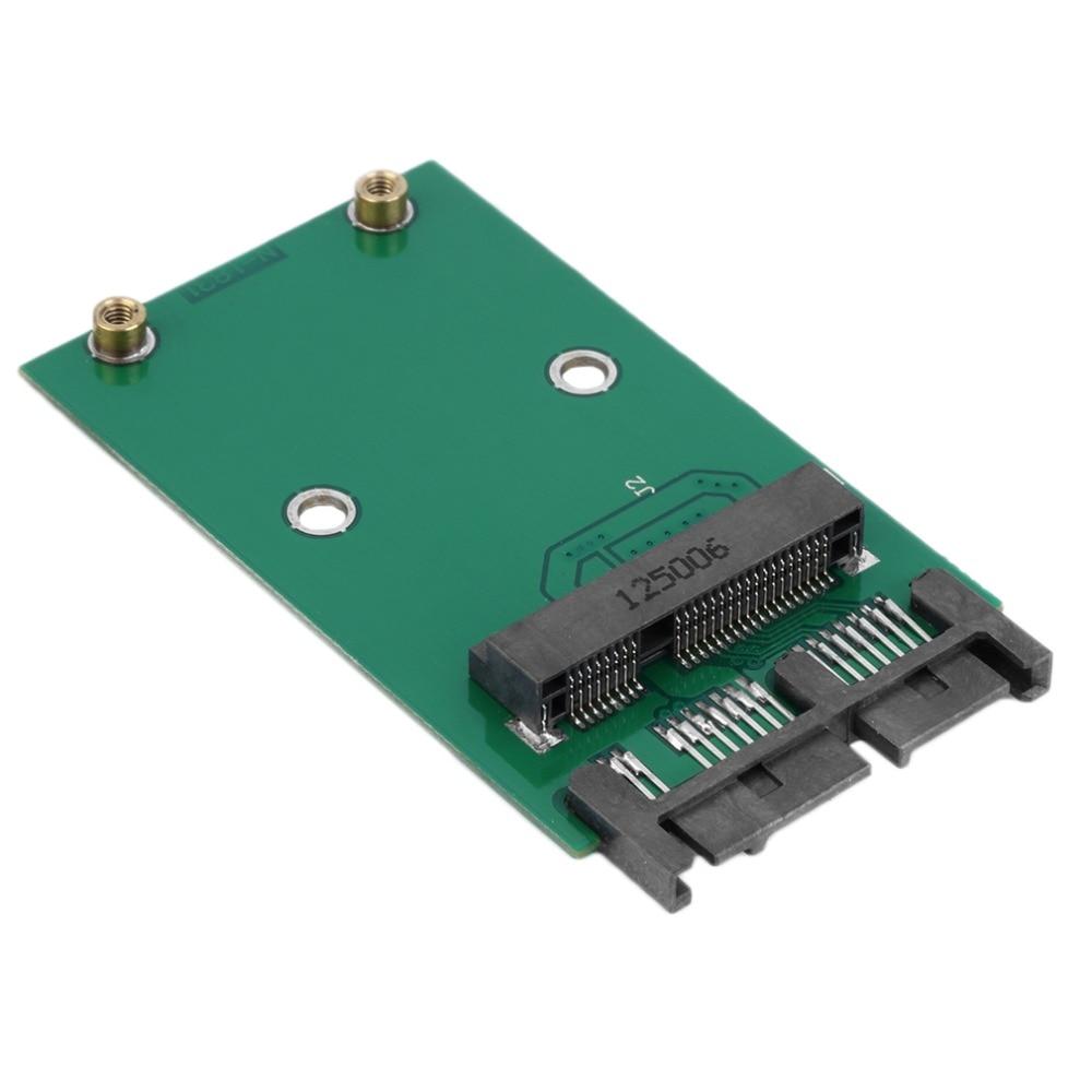 New 1.8 inch Green High Capacity High Power Serial mSATA to SATA Adapter Digital Hot Promotion dual msata raid to 22pin sata adapter 2 5 inch sata 3 0 enclosure usb3 0 to 2 msata sata 3 raid 0 1 free shipping
