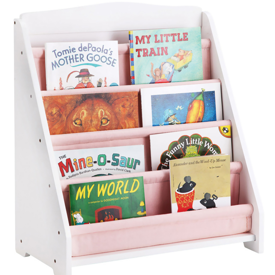 GuideCraft Expressions Book Display: White guidecraft expressions trophy rack natural