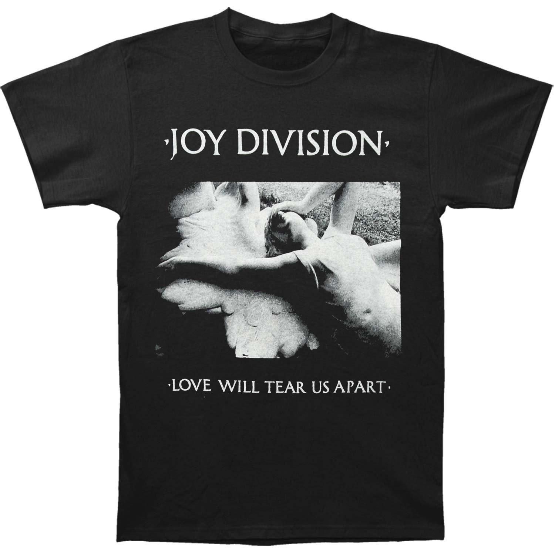 Impact Hommes Joy Division de L'amour Va Nous Déchirer T-Shirt 2018 Marque Vêtements Slim Fit Impression De Mode T-shirt Top Tee