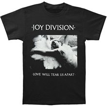 купить Impact Men's Joy Division Love Will Tear Us Apart T-Shirt 2018 Brand Clothes Slim Fit Printing Fashion T Shirt Top Tee по цене 849.31 рублей
