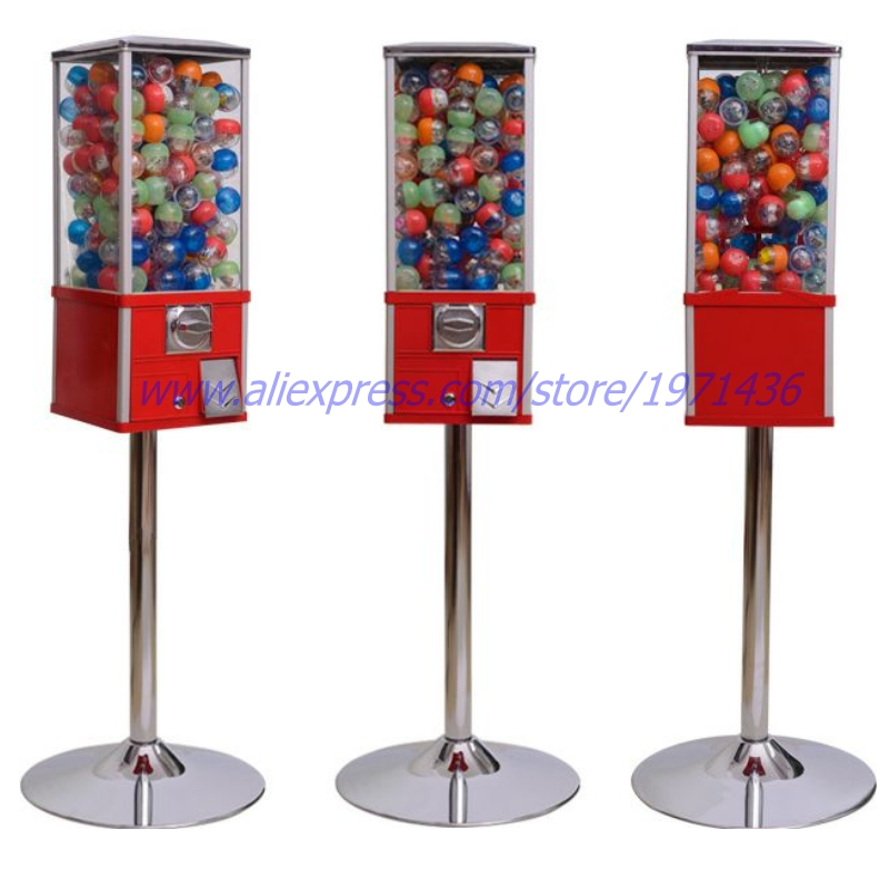 High Quality Coin Operated Gumball Capsules Toy Vending Game Machine