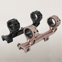 FIRE WOLF Ring AR15 M4 M16 Optic Defense Rifle Optical Scope Mount 1 Inch 30mm Picatinny