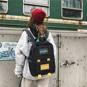 Image 2 - DCIMOR New Large Capacity Backpacks Waterproof nylon Ring portable backpack  School bag for Teenage Girls Mochila Female Daypack