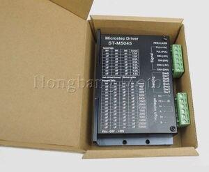Image 3 - ¡Envío Gratis! 24 50VDC 256 subdivisión CNC Micro paso nombre 23 ST M5045 controlador de Motor paso a paso reemplazar M542, 2M542 2 fases 4.5A