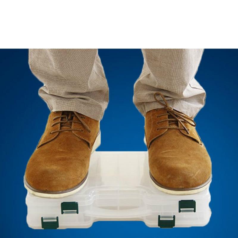 Hohe Qualität Doppelseitige Tragbare Kunststoff Angeln Box 29 * 19 * - Angeln - Foto 6