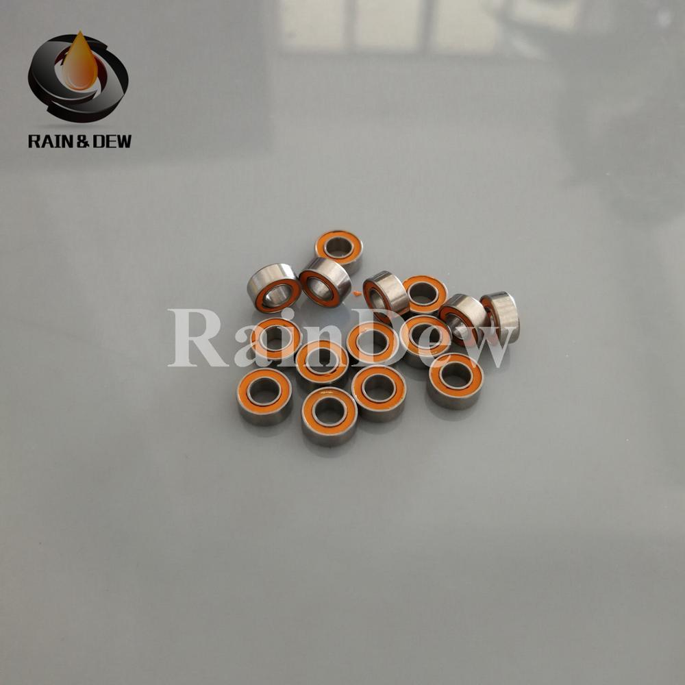 QTY 4 3x6x2.5 mm Hybrid Ceramic Ball Bearings Bearing ABEC-7 SMR63-2RS