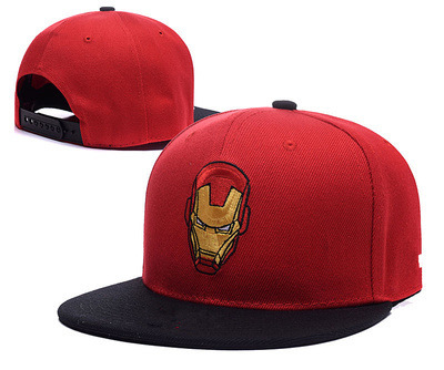 Embroidery Adult Size Ironman Avengers   Baseball     Caps   Iron Man Cartoon Character Hip-Hop Hats   Caps   batman superman couple   caps