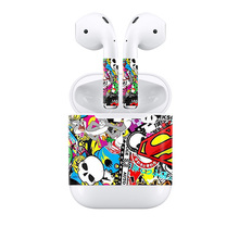 Showcase your distinctive type in your Apple AirPods pores and skin sticker bomb designs