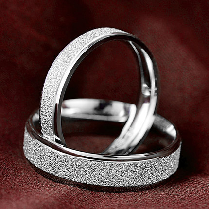 925 sterling silver engagement and wedding rings couples ring for men and women his and her promise ring set white gold filled in rings from jewelry - Silver Wedding Rings For Her