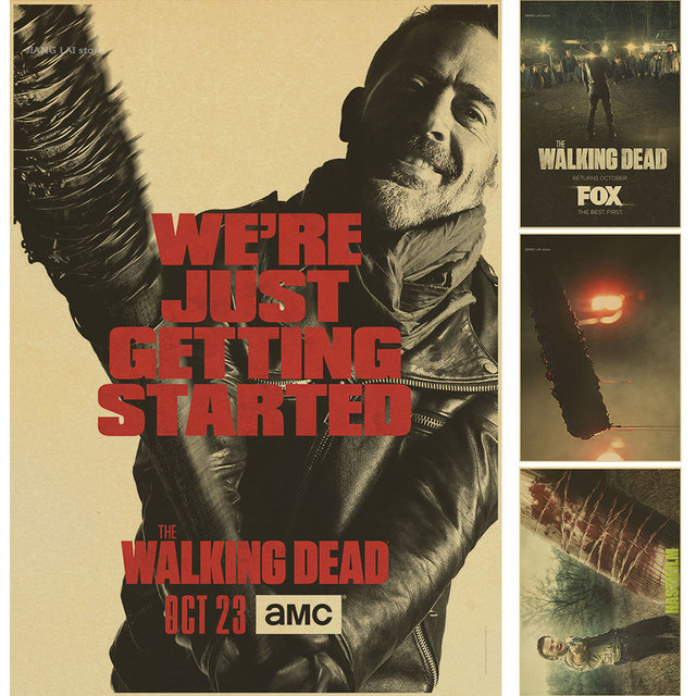 The Walking Dead Negan Lucille Poster