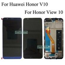 Original para huawei honor v10 BKL AL00 BKL AL20/honor view 10 BKL L09 display lcd + touch screen digitador assembléia com quadro