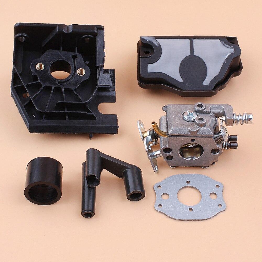 Carburetor Adaptor Intake Boot Air Filter Repair Kit For HUSQVARNA 142 141 137 136 41 36 Chainsaw Spare Parts 5pcs sleeve intake manifold kit for husqvarna 36 41 136 137 141 142 chainsaw 530029814