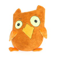 2019 New Arrival Creative Funny Owl Doll Cute Plush Toy Owl Stuffed Toy Soft Animal for Baby Kids