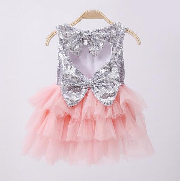 86ec99b27eb0f US $71.91 10% OFF Aliexpress.com : Buy wholesale cute bows baby girl  sequined tutu dress children toddler girl formal evening dress infantil  birthday ...