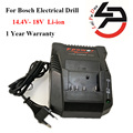 1018 k li-ion cargador de batería para bosch taladro eléctrico 14.4 v-18 v li-ion bat609g bat609 bat618 bat618g 2607336236