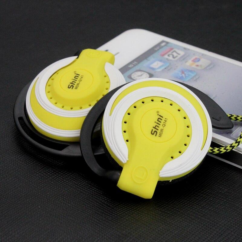Наушники Shini Q141 с басами, 3,5 мм, стерео, музыкальные наушники, наушники для бега, наушники для Xiaomi, Mp3 плеера, компьютера, мобильного телефона, о...