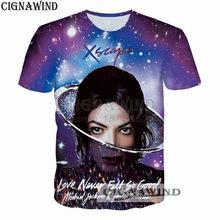 Forever rock king Michael Jackson t-shirt Print 3D funny t shirts Casual  hip hop t shirt men women tshirt streetwear unisex top df4f7487dc6c