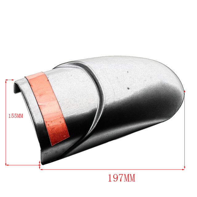 for Honda CRF 1000L Africa Twin 2016 2017 CRF1000L Motorcycle Front Mudguard Fender Rear Extender Extension