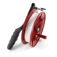 Hot Sale 1Pc Outdoor Nylon String 4.9″ Diameter Plastic Round Spool Kite Reel Winder