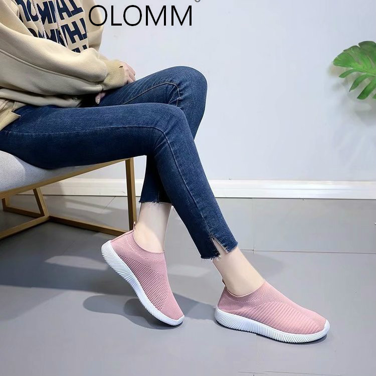 Winter New Womens Cotton Shoes Women's Shoes Round Head Cloth Low Heel Rubber Zapatos De Mujer  Flats  Sneakers Women(China)