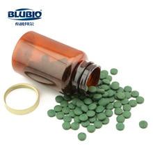 BluBio 100% natural spirulina chlorella tablet for sports supplement