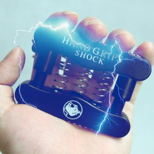hot selling Hand Grip Electric Shock Toy Trick Halloween Christmas gift prank Joke Gag party retail package 10 pieces /lot