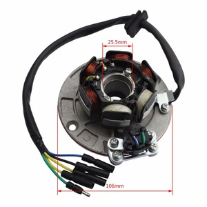 Image 2 - GOOFIT 12 V Magneto Stator Schwungrad Rotor Kit für Yx 140cc 150cc 160cc Pit Dirt Bike Gruppe 6