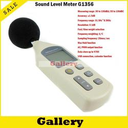 Wykrywacz metali dozymetr Soud miernik poziomu Gm1356 poziom hałasu z oprogramowanie komputerowe dostępne on-line pomiaru i analizy